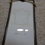 【沖縄リゾートウェディング】招待状・席次表・席札は手作りでオリジナル感&節約
